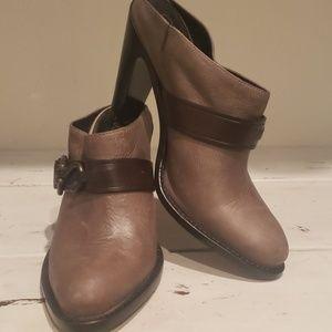 Cole Haan Nike Air mule heels.